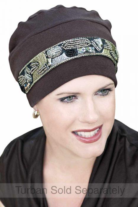Deluxe Headwear Jewelry: Headband for Turbans