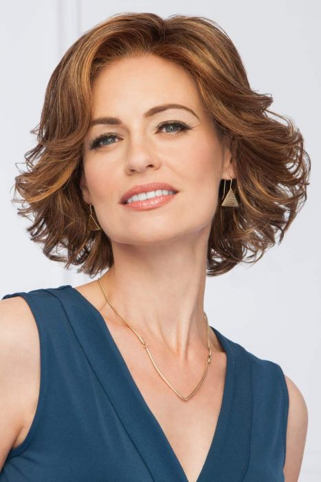 High Impact Large by Eva Gabor Wigs - Lace Front, Monofilament Part Wig
