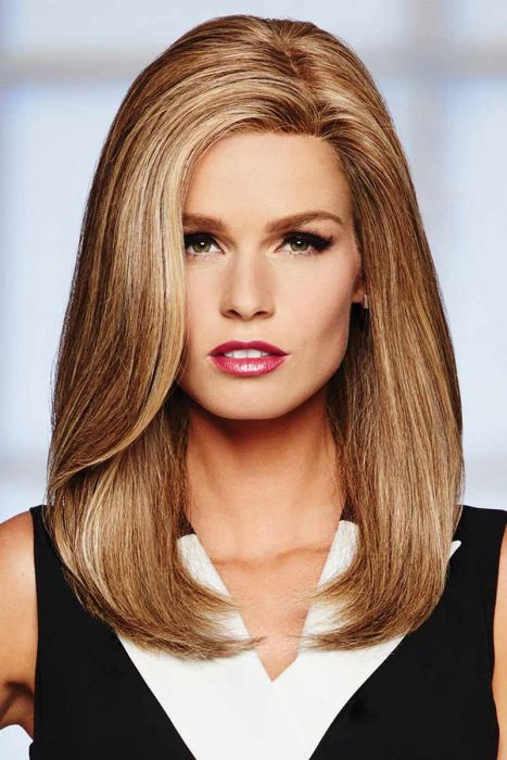High Profile by Raquel Welch Wigs - Human Hair, Lace Front, Mono Top Wig