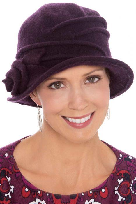 Wool Juniper Rose Cloche Hat | Winter Hats for Women
