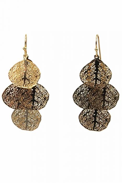 Falling Leaves Dangle Earrings | Hypoallergenic and Nickel Free |