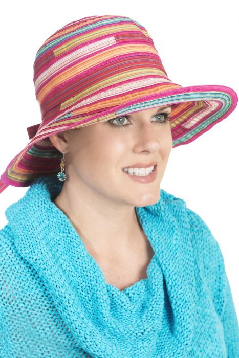 Kaleidoscope Bucket Hat - Summer Sun Protection Hat for Women