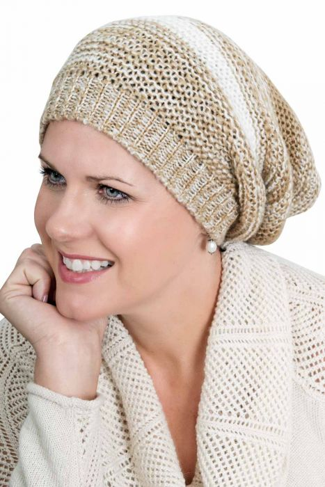 Kayle Slouchy Beanie Cap - Slouch Hat for Women