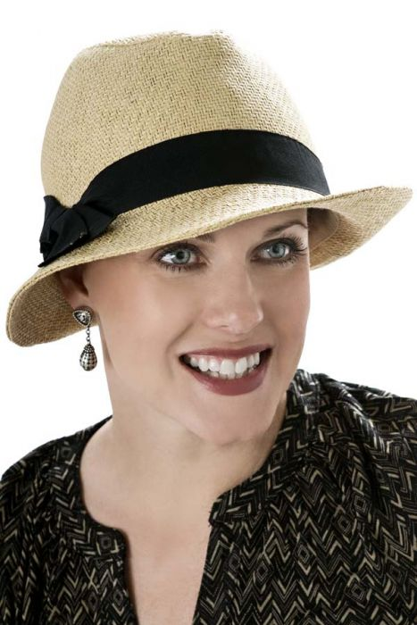 Kendall Fedora Hat for Women - Petite Size