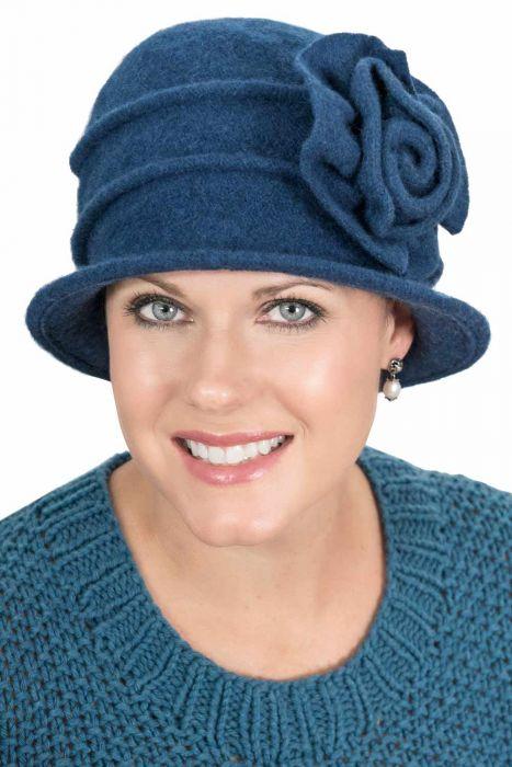 Kendra Cloche Hat - Wool Winter Hats for Women