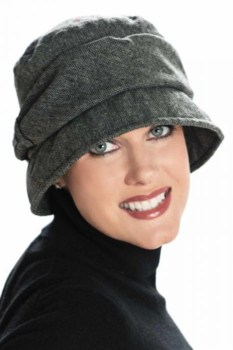 Kennedy Cloche Hat - Classic Tweed Vintage Cloche Style Hat