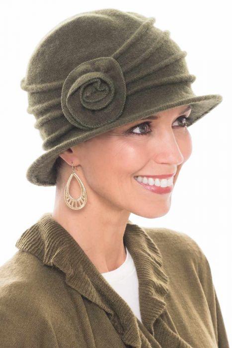 Wool Kennie Cloche Hat