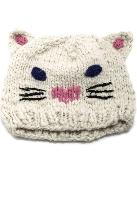 Kitty Cat Crocheted Hat for Kids |