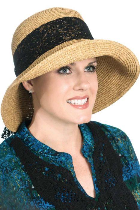 Lace Bella Sun & Beach Hat for Women