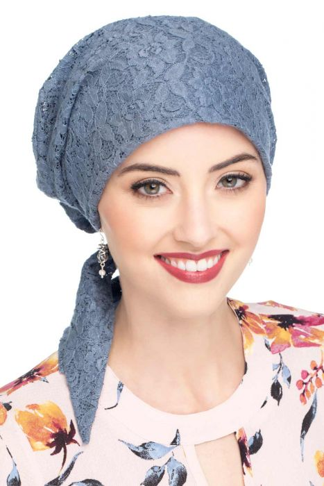 Cardani Lace Easy to Tie (E-T-T) Scarf Cap