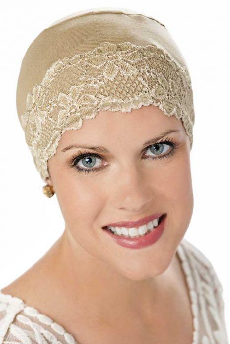 Lace Hat Liner - Headwear Lingerie