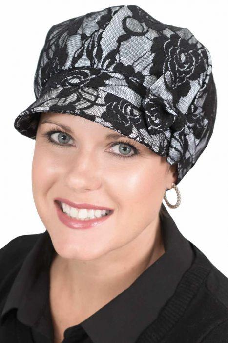 Lace Newsboy Hat   Newsboy Cap for Women