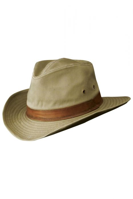 FACTORY SECONDS: Flexible Brimmed Outback 100% Cotton Hat | Sun Protected Hats for Men