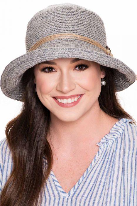 Larkin Braided Hemp Sun Hat   UPF 50+ Summer Hats for Women  