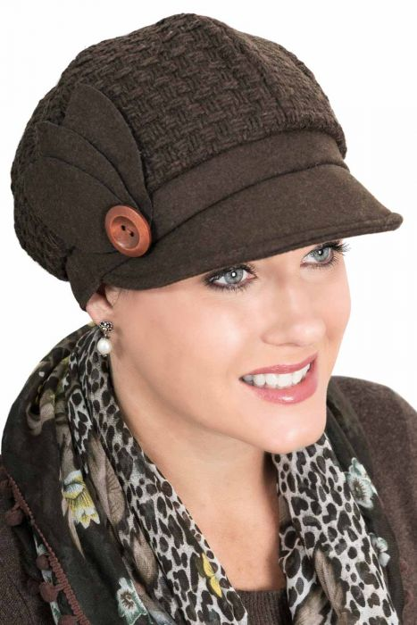 Laurel Newsboy Hat - Fall and Winter Newsboy Caps for Women