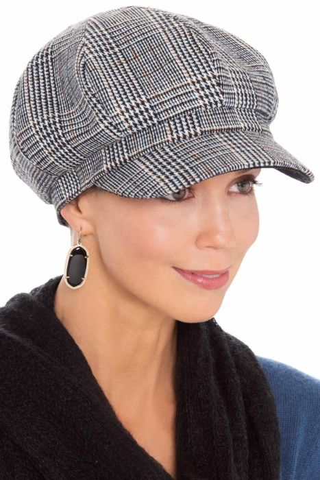 Layla Plaid Newsboy | Fall and Winter Hats for Women