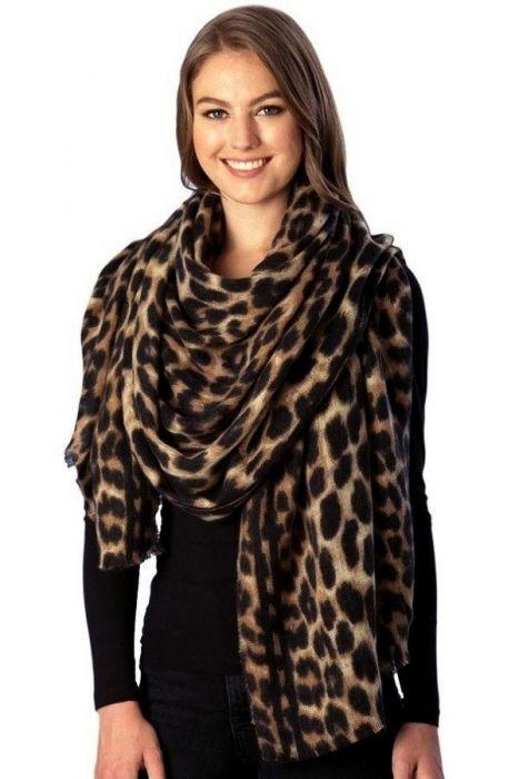 Leopard Blanket Scarf & Wrap