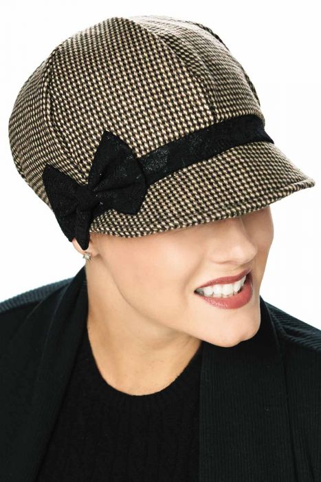 Lyric Newsboy Hat