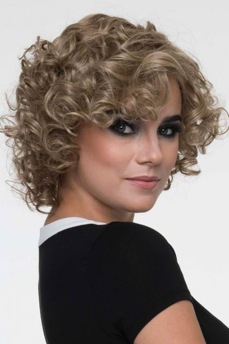 Macey by Envy Wigs - Human/Heat Friendly Synthetic Hair Blend, Mono Top, Lace Front Wig