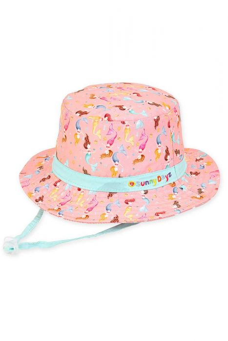 Mystical Mermaid Bucket Hat | Summer Hats for Kids and Children