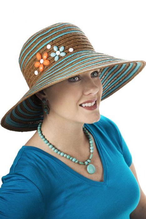 Daisy Beads Sun Hat