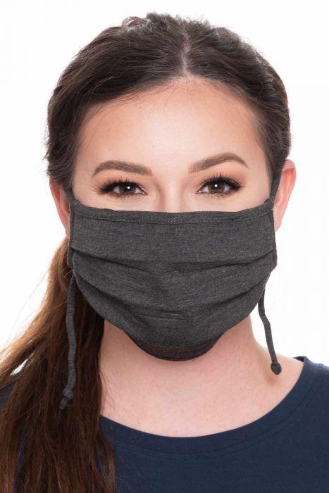 Large Accordion Bamboo Face Mask | Coronavirus Medical & Surgical Face Mask Cover
