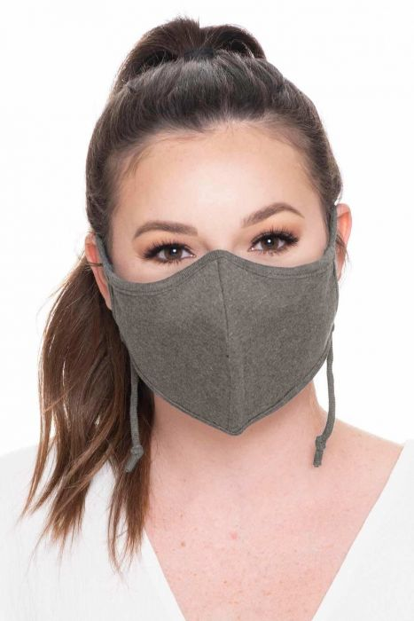 Unisex Charcoal Fibre Face Mask | Bamboo Charcoal Fiber Medical & Surgical Mask for Viruses