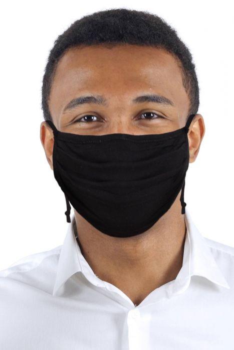 Size LARGE | Accordion Bamboo Face Mask for Men | Coronavirus Medical & Surgical Face Mask
