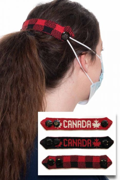 Go Canada Medical Face Mask Holders   Pack of 3 Mask Extenders  