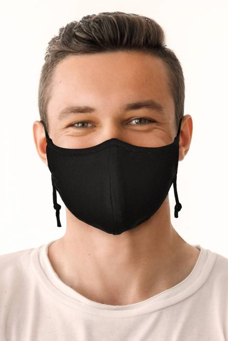 Organic Cotton Face Mask for Men | Medical & Surgical Coronavirus Face Mask