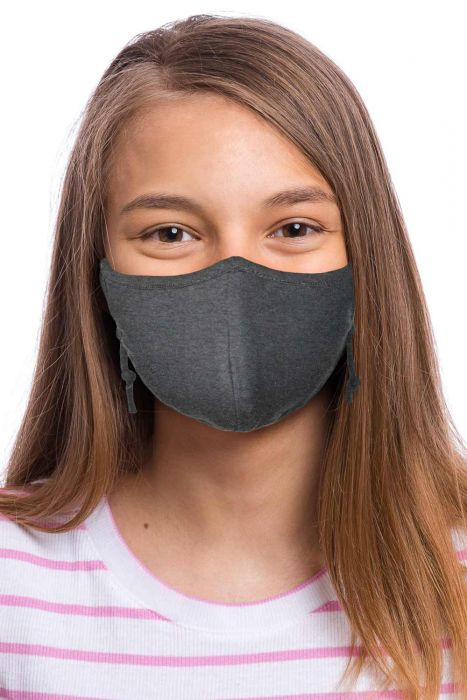 Juniors Bamboo Face Mask with Filter Pocket | Petite Medical & Surgical Mask for Coronavirus