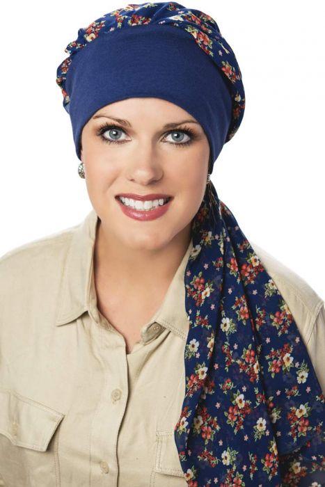 Melanie Headband Pre-Tied Head Scarf