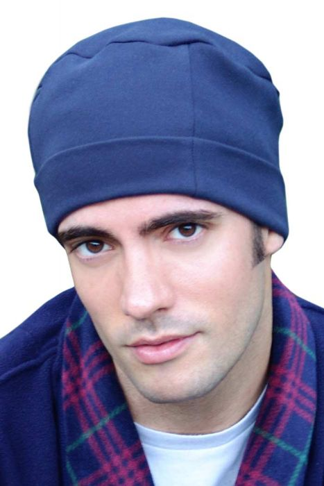 100% Cotton Mens Night Cap - Soft Sleep Hat - Sleeping Cap