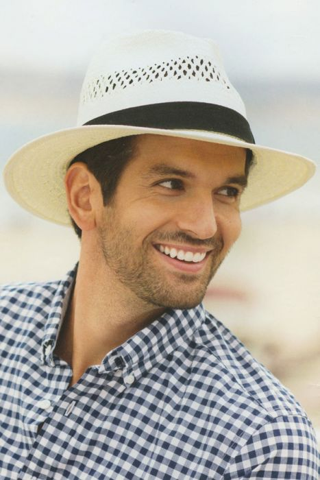 Mens Refined Fedora Sun Protection Hat |
