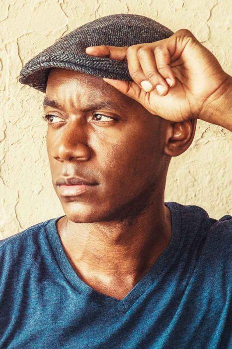 Men's Wool Blend Herringbone Driver Cap with Snap Back   Men's Driver Caps