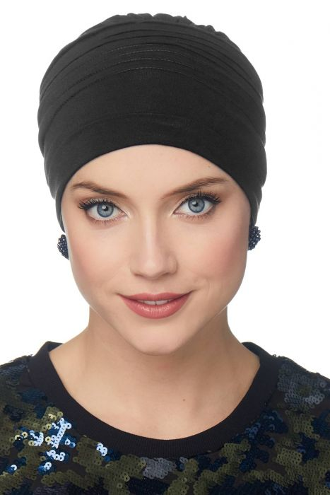 Meridian Beanie Cap & Volumizer Turban | Cardani® Viscose from Bamboo Hat