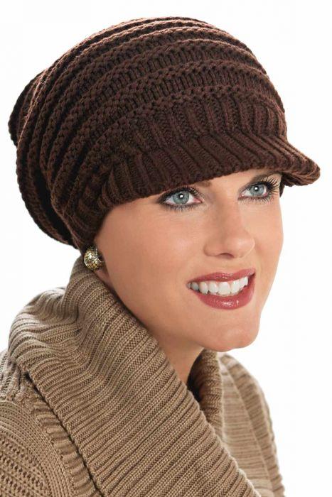 Meridy Brimmed Beanie Hat