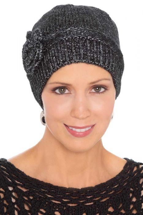 Metallic Cloche Beanie   Winter Hats for Women  