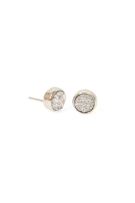 Mini Druzy Stud Earrings | Nickel & Lead Free Earrings for Guys and Women