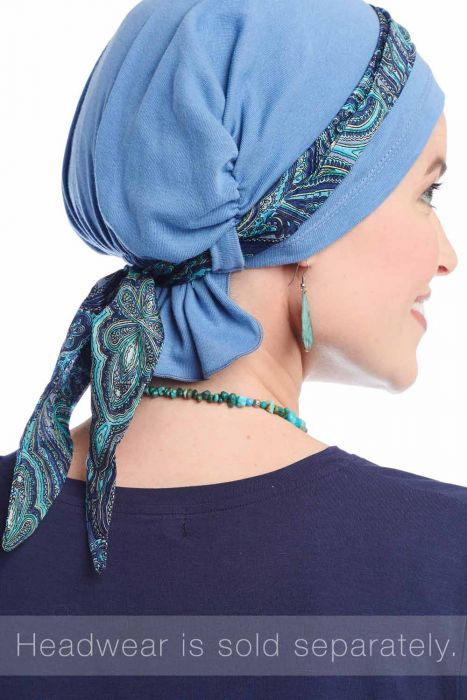 Mini Scarf | Accessory for Hats & Headwear | Scarf Band