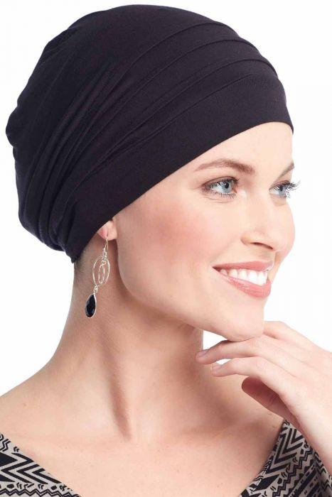 Cardani® Mod Slouchy Snood Turban | Viscose from Bamboo Hat