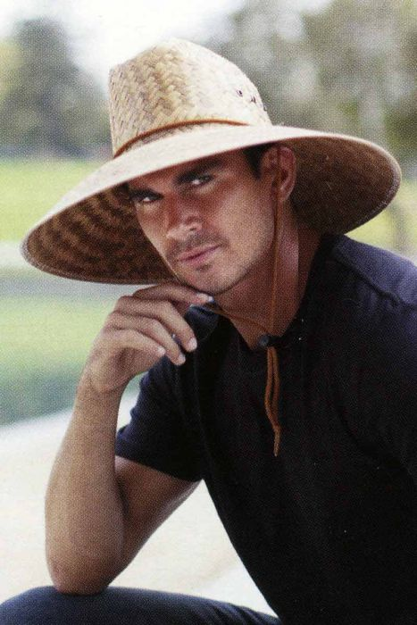 Mens 5 inch Brim Outdoor Straw Hat | Hats for Guys
