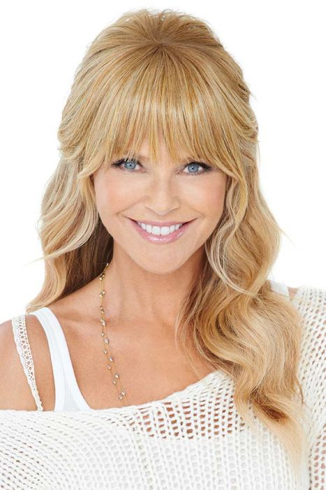 Natural Fringe Clip-In Bang by Christie Brinkley Wigs