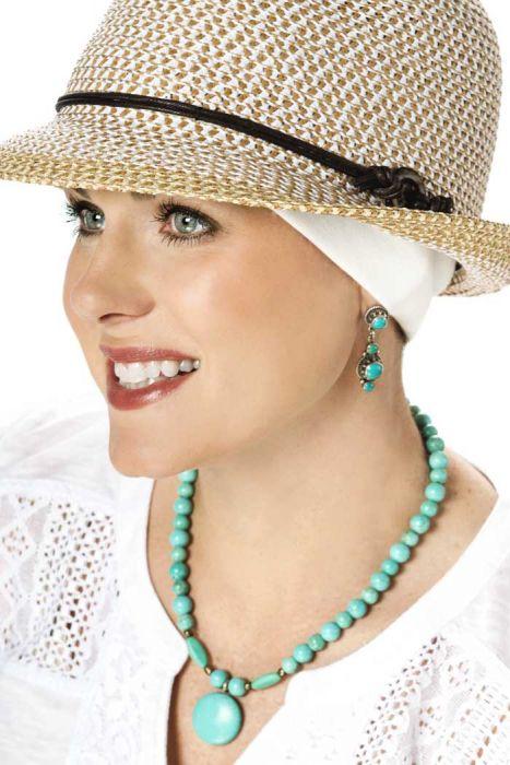 100% Cotton Oversized Wide Headband - Wear Under Hats
