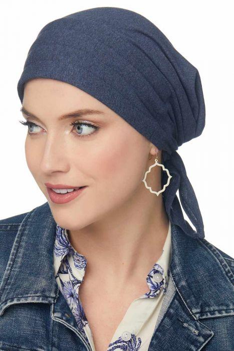 Padded Carol Scarf | 100% Organic Cotton Easy Tie Head Wrap Scarf