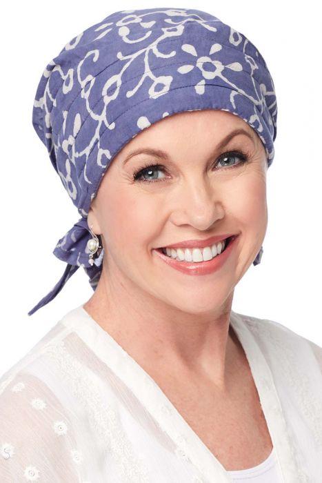 Padded Carol Scarf - Easy Tie Head Scarf