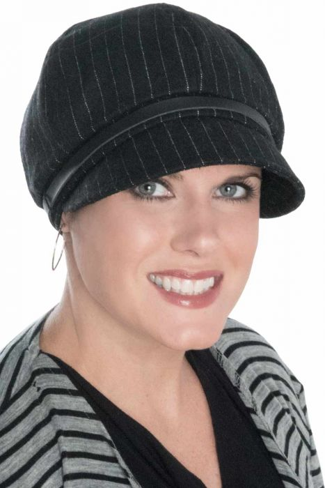 Belted Buckle Newsboy Hat - Winter Hats for Women