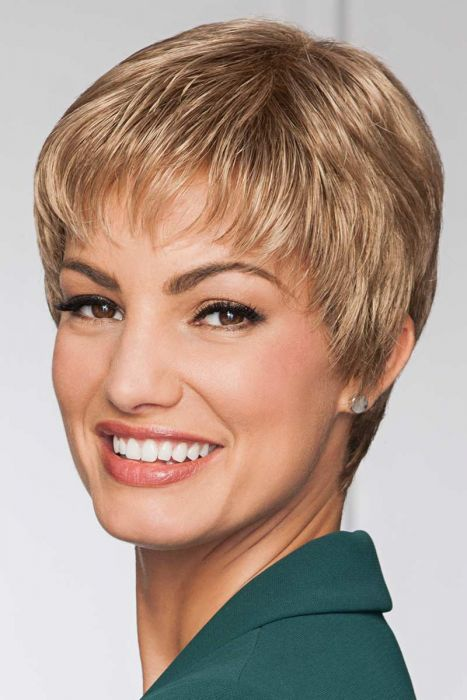 Petite Pixie Perfect by Eva Gabor Wigs - Monofilament Crown Wig