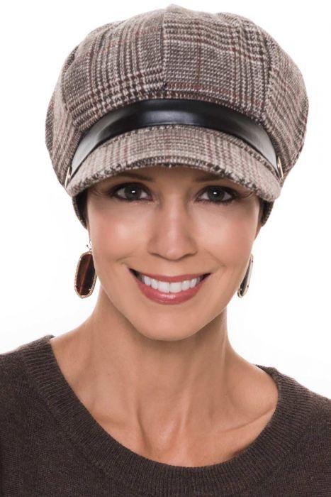 Plaid Braylee Newsboy Hat | Fall & Winter Newsboy Caps for Women