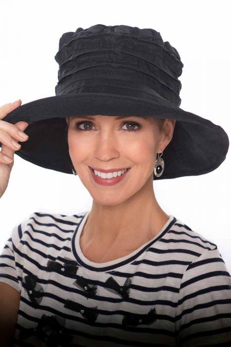Pleated Ruffle Sun Hat | Summer Hats for Women